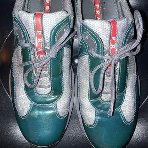 Prada sneakers early 2000's size 38